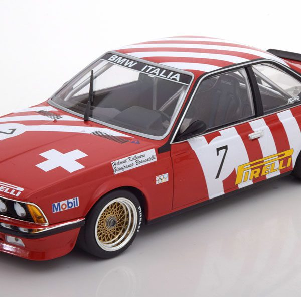 BMW 635 CSI No.7, Grand Prix Brno 1984 Minichamps 1-18 Brancatelli/Kelleners Limited Edition 354 pcs