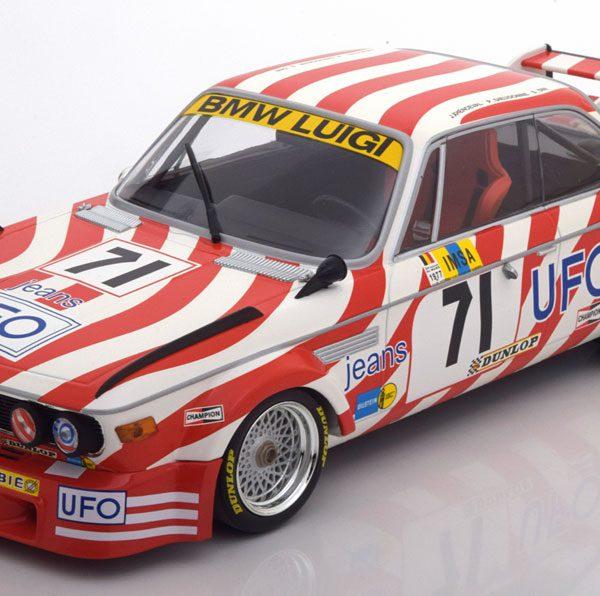 BMW 3.0 CSL No.71, 24h Le Mans 1977 Xhenceval/Dieudonne/Dini 1-18 Minichamps Limited 804 Pcs