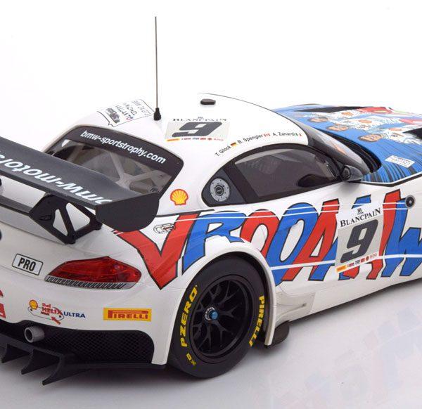 BMW Z4 GT3 No.9, 24h Spa 2015 Zanardi/Spengler/Glock 1-18 Minichamps Limited 402 Pieces
