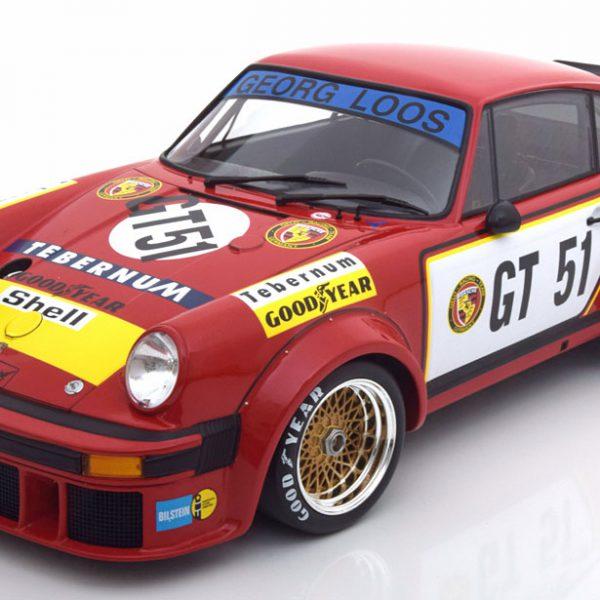 Porsche 934 1976 #GT 51 Toine Hezemans Team Gelio-Tebernum Racing 1:12 Minichamps