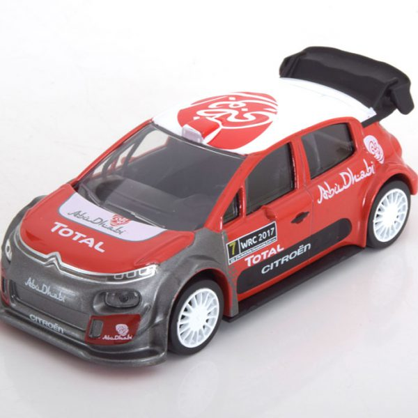 Citroen C3 WRC Official Presentation Version 2017 1-43 Norev Jet Car