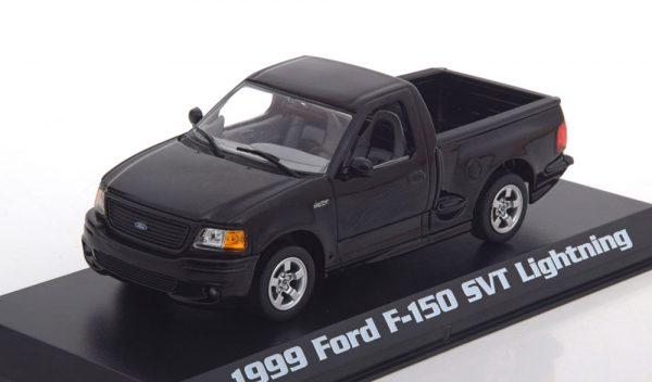 Ford F-150 SVT Lightning Pick Up 1999 Zwart 1-43 Greenlight Collectibles