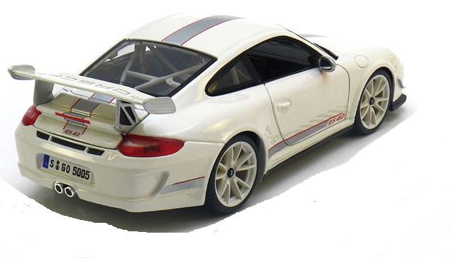Porsche 911 GT3 RS 4.0 1-18 Burago Wit