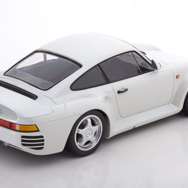 Porsche 959 1987 Wit 1-18 Minichamps Limited 504 Pieces