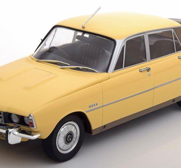 Rover 3500 V8 1974 1:18 Geel MCG Models Limited