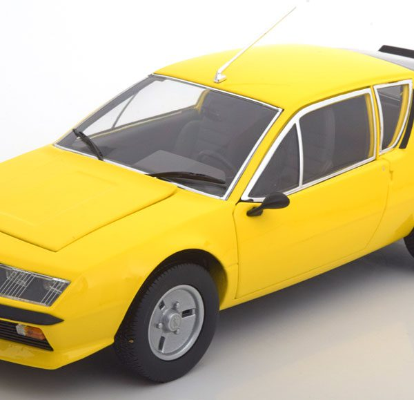 Norev Renault Alpine A310 1977 Geel 1:18 Norev