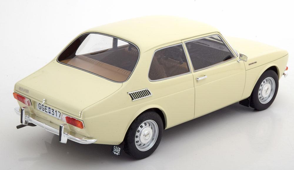 Saab 99 1971 Beige 1-18 BOS Models Limited 1000 Pieces
