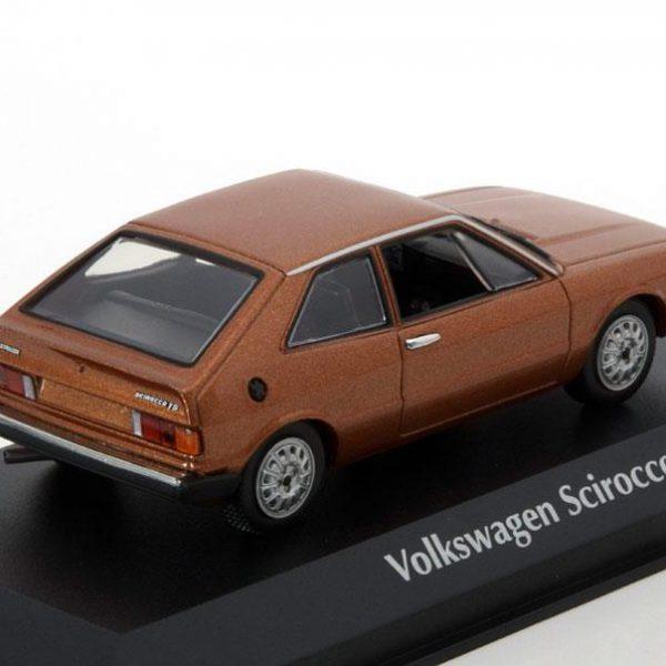 Volkswagen Scirocco 1 1974 Bruin Metallic 1-43 Maxichamps
