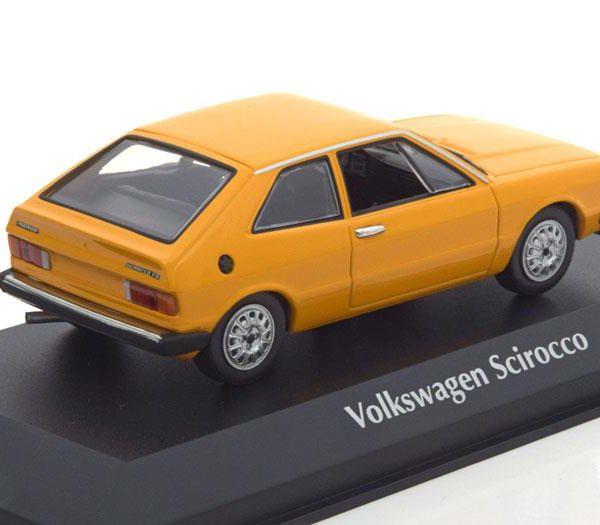 Volkswagen Scirocco 1 1974 Geel 1-43 Maxichamps