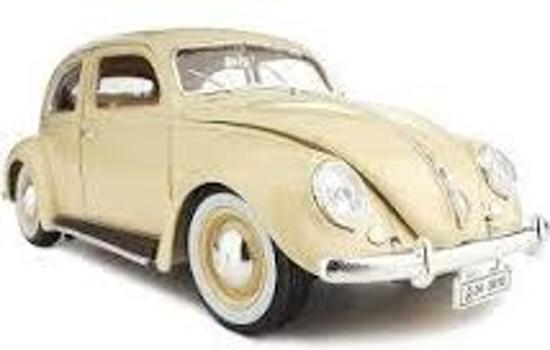 Volkswagen kever Beetle 1955 Burago