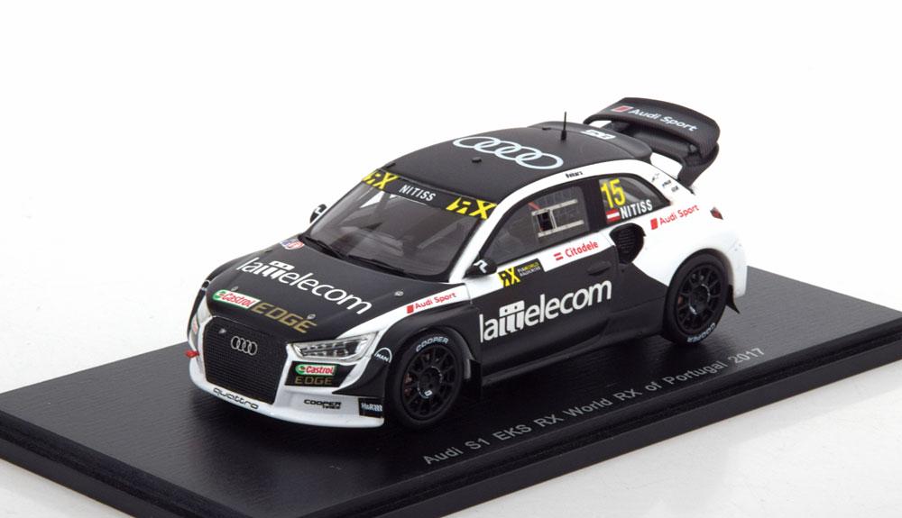 Audi S1 EKS RX WRX Portugal 2017 Nitiss 1-43 Spark