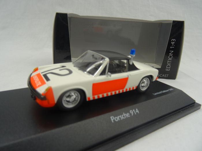 Schuco - 1:43 - Porsche 914 2.0 Rijkspolitie - Limited 500 pcs