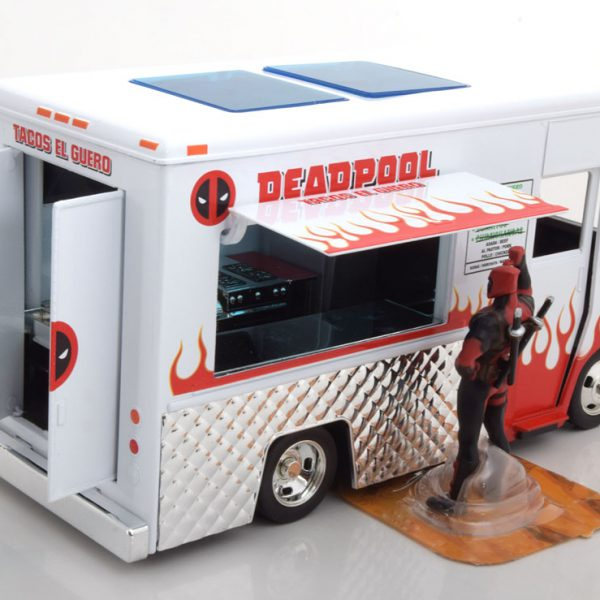 Deadpool Taco Truck inclusief figuur 1:24 Jadatoys