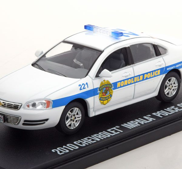 "Chevrolet Impala Police Cruiser 2010 ""Hawai Five O"" 1-43 Greenlight Collectibles"