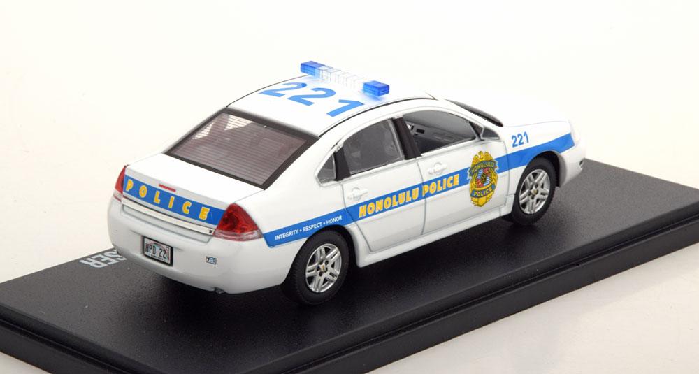 "Chevrolet Impala Police Cruiser 2010 ""Hawai Five O"" 1-43 Greenlight Collectibles"