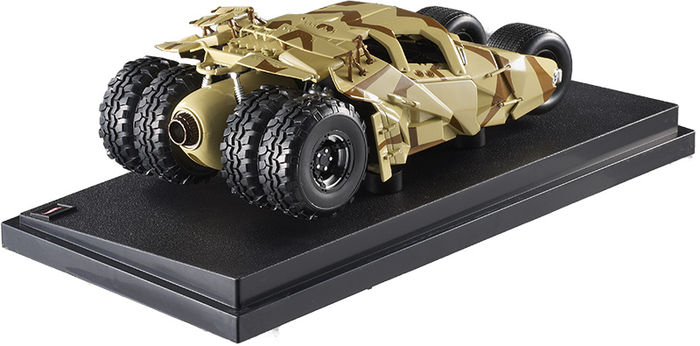 "Batmobile Camoufkage Tumbler ""The Dark Knight Rises"" 1:18 Hotwheels"