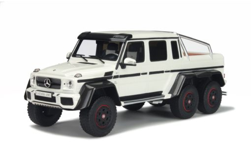 Mercede-Benz G63 AMG 2014 6X6 Wit 1:18 GT Spirit
