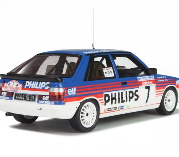 Renault 11 Turbo Groupe A Tour de Corse 1986 - Ragnotti 1-18 Otto Mobile Limited 2000 Pieces