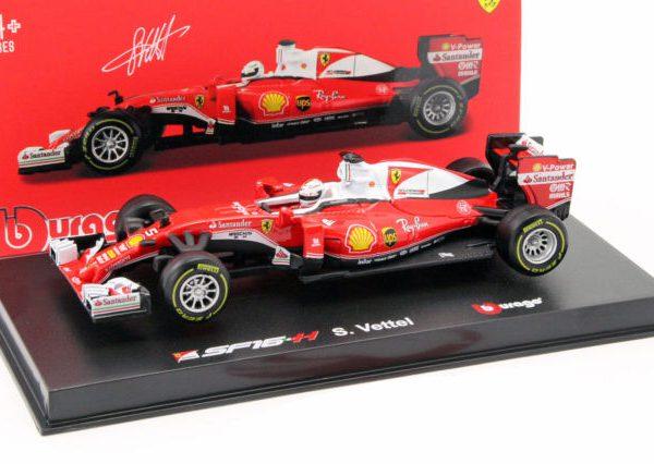 Ferrari SF16-H #5 Formula 1 2016 Sebastian Vettel Ray-Ban 1:43 Bburago