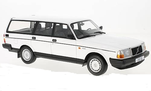 Volvo 240 GL 1989 Wit 1:18 BoS models Limited 504 pcs.