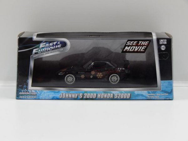 Honda S2000 Johnny's 2000 Fast & Furious 1-43 Greenlight Collectibles