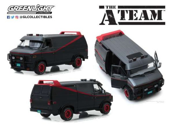 "GMC Vandura 1983 ""The A-Team"" 1-24 Greenlight Collectibles"