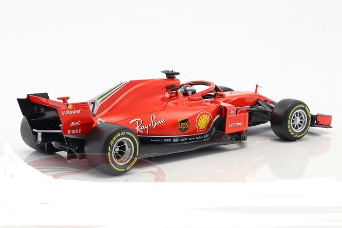 Ferrari SF71H #7 2018 K.Raikkonen 1-18 Burago Racing