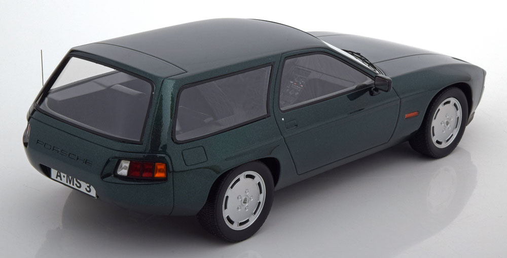 Porsche 924 Turbo Artz Kombi 1981 Blauw metallic 1:18 PremiumX