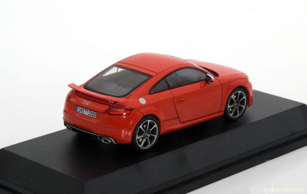 Audi TT RS Coupe 2017 Rood 1-43 Iscale