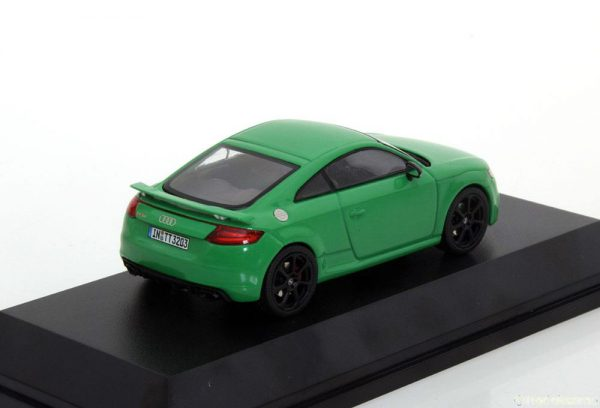Audi TT RS Coupe 2017 Groen 1-43 Iscale