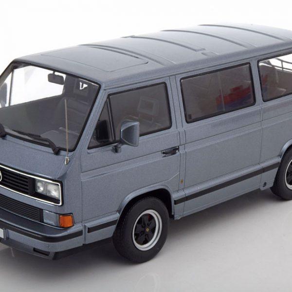 Volkswagen T3 Bus B32 Porsche 1984 Grijs Metallic 1-18 KK Scale Limited 1000 Pieces