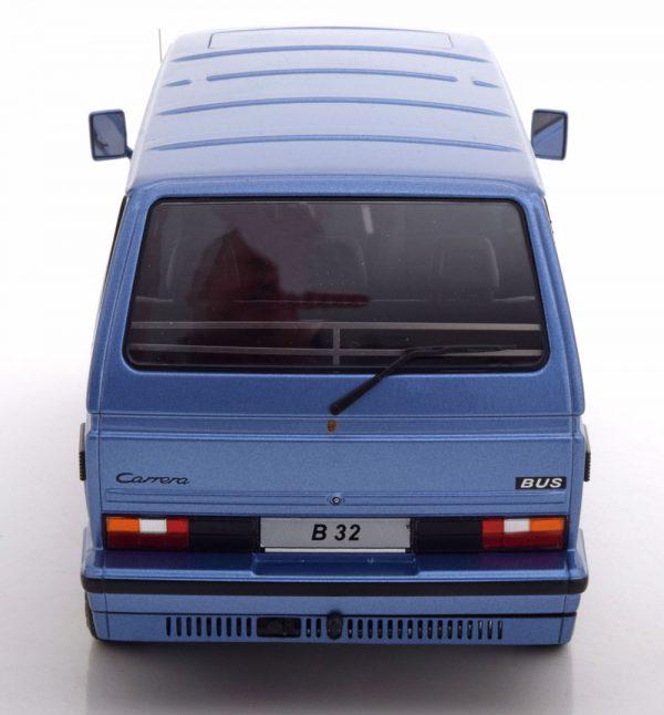 Volkswagen T3 Bus B32 Porsche 1984 Blauw Metallic 1-18 KK Scale Limited 500 Pieces
