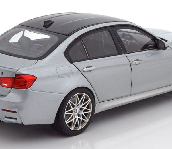 BMW M3 Competition 2017 Zilver 1:18 Norev