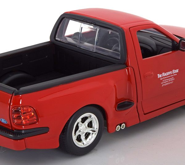 """Ford F-150 SVT Lightning Brian""""s """"Fast and the Furious """" Rood 1-24 Jada Toys"""