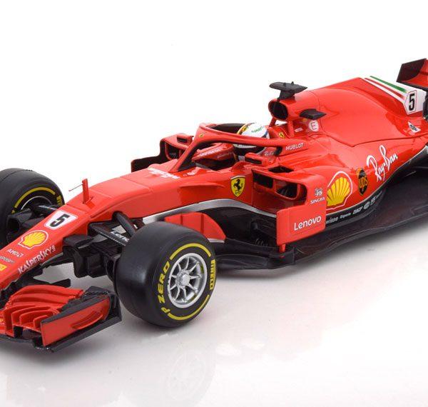 Ferrari SF71H #5 F1 2018 Sebastian Vettel 1:18 Bburago Racing