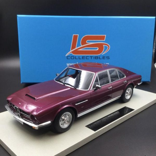 Aston Martin Lagonde 1974 Bordeaux Rood Metallic 1-18 LS Collectibles Lim.250 Pieces