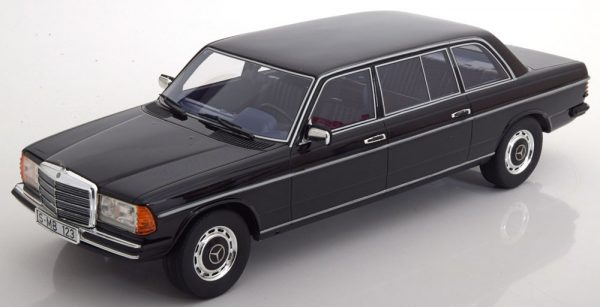 Mercedes-Benz 250 W123 Lang Version 1983 Zwart 1-18 Cult Scale Models