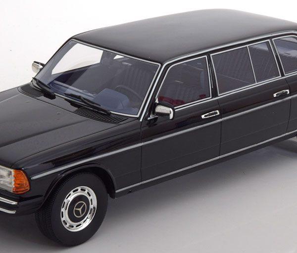 Mercedes-Benz 250 W123 Lang Version 1983 Zwart 1-18 Cult Scale Models