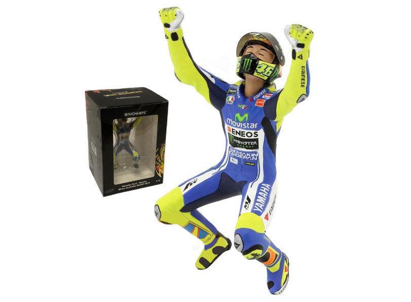 Valentino Rossi Figuur Winner Australian MotoGP 2014 Minichamps Limited 504 Pieces