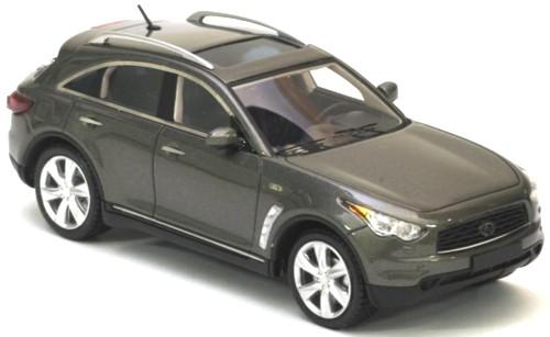 Infiniti FX50S Zwart 1:43 Neo scale models