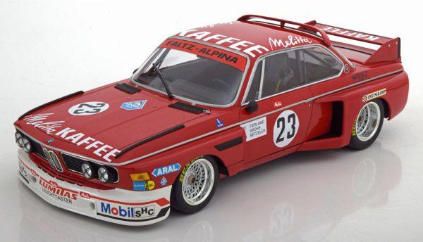 BMW 3.0 CSL No.23, Zandvoort Trophy 1976 DeFierlant/Grohs/Betzler 1-18 MInichamps Limited 426 Pieces