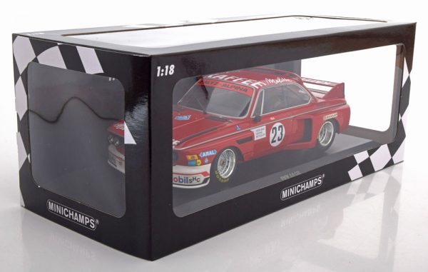 BMW 3.0 CSL No.23, Zandvoort Trophy 1976 DeFierlant/Grohs/Betzler 1-18 MInichamps Limited 426 Pieces