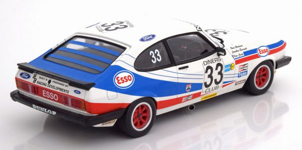 "Ford Capri 3.0S No.33, 24h Spa 1981 ""Esso"" Woodman/Buncombe/Clark 1-18 Minichamps limited 300 Pieces"