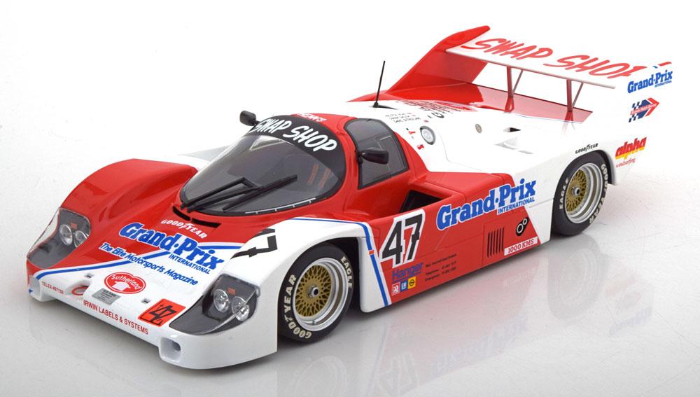 Porsche 956K No.47, 1000km Brands Hatch 1983- Rijders Galica/Sutherland/Henn 1-18 Minichamps Limited 300 Pieces