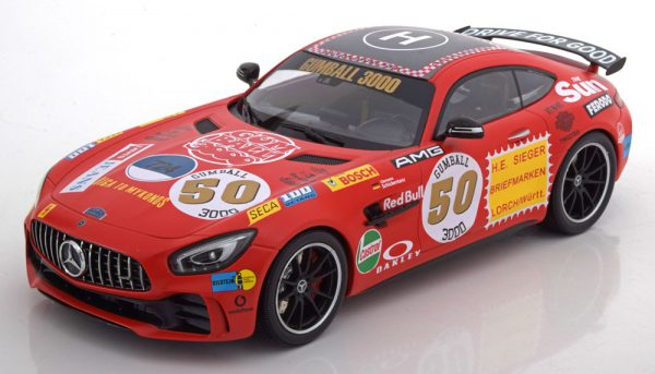 Mercedes-Benz AMG GT R 2017 No.50, Gumball 3000 Minichamps 1-18 Limited Edition 504 pcs