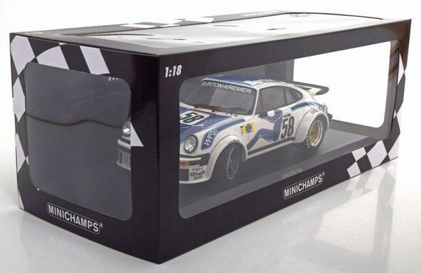 Porsche 934 No.58, 24h Le Mans 1977 Wollek/Gurdian/Steve 1-18 Minichamps Limited 336 Pieces