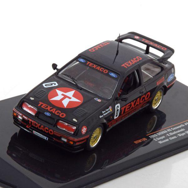 Ford Sierra Cosworth No.6, WTCC Sieger 1987 Dijon Soper/Niedzwiedz 1-43 Ixo Models