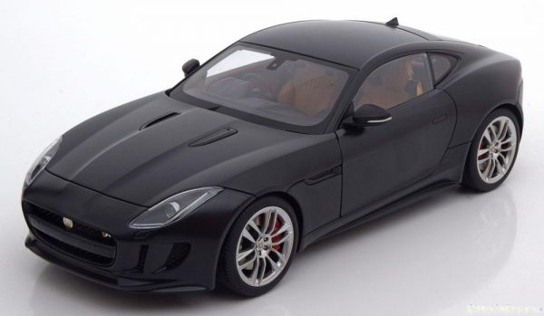 Jaguar F-Type Project 7 R Coupe 2015 Matzwart 1-18 Autoart
