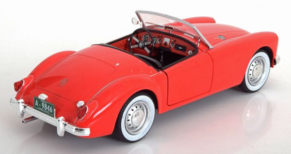 "MG A MK 1 A 1600 Roadster 1959 'Elvis Presley"" Rood 1-18 Greenlight Collectibles"