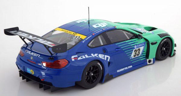 BMW M6 GT3 Sieger 4. Rennen, VLN Nürburgring 2017 Dusseldorp/Müller 1-18 Minichamps Lim 222 Pcs